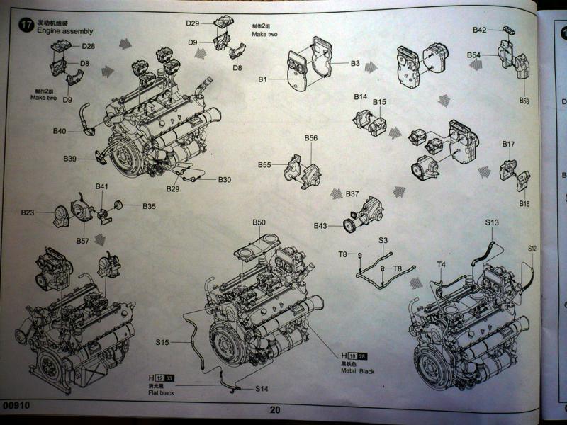 182 King Tiger 2 in 1 - TRUMPETER 00910 - 1/16ème - Page 5 Plan-moteur-2-
