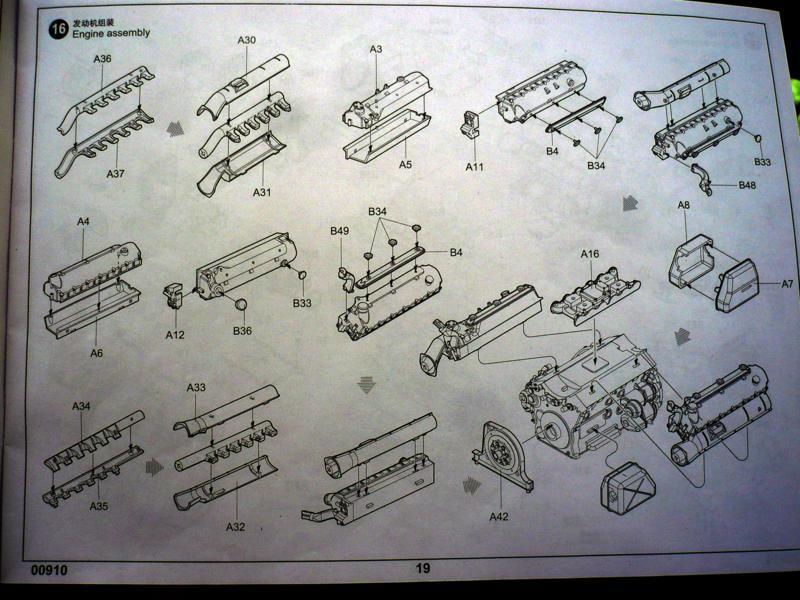 182 King Tiger 2 in 1 - TRUMPETER 00910 - 1/16ème - Page 5 Plan-moteur-3-